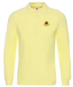 TShirt Lengan Panjang Kuning Muda